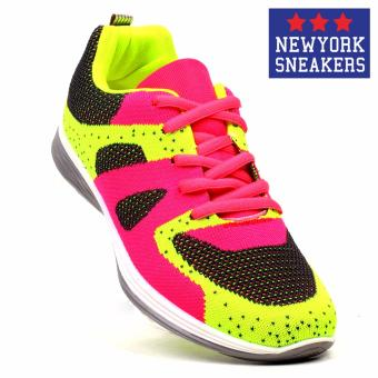 New York Sneakers AL155 Rubber Shoes(GREEN,PINK,GREY)