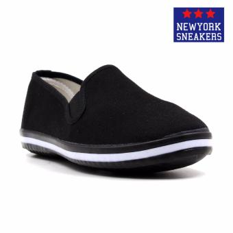 New York Sneakers Anneke Slip On Shoes(BLACK)