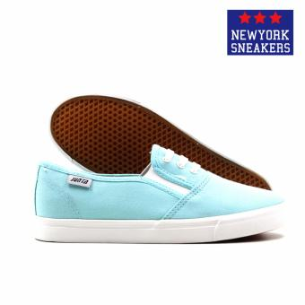 New York Sneakers Bonnie Slip On Shoes(Turquoise) - 3