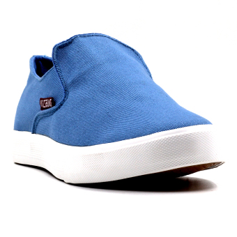 New York Sneakers Bret Slip On Shoes(L.BLUE)