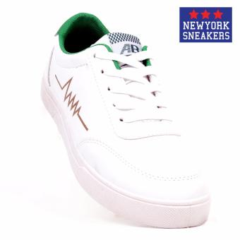 New York Sneakers Bruce Low Cut Shoes(WHITE)