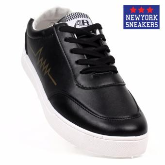 New York Sneakers Bruce Rubber Low Cut Shoes(BLACK)
