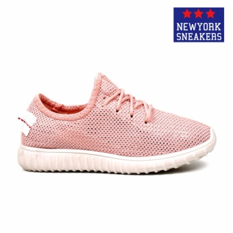 New York Sneakers Cassius Rubber Shoes(PINK) - 2