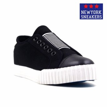 New York Sneakers Donny Slip On Shoes(BLACK)