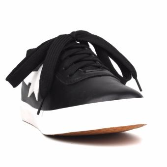 New York Sneakers Elin Low Cut Shoes(BLACK)