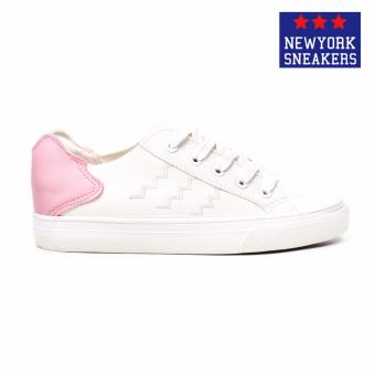 New York Sneakers Feiro Low Cut Shoes1827(WHITE/PINK) - 2