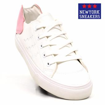 New York Sneakers Feiro Low Cut Shoes1827(WHITE/PINK)
