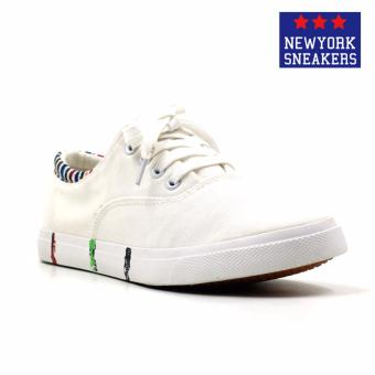 New York Sneakers Ferguson Low Cut Shoes(WHITE)