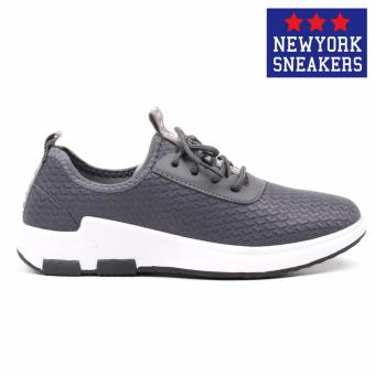 New York Sneakers Jo Rubber Shoes - F5066(GREY) - 2