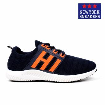 New York Sneakers Kent Rubber Shoes(NAVY) - 2