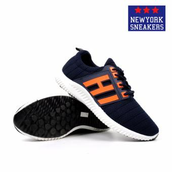 New York Sneakers Kent Rubber Shoes(NAVY) - 3