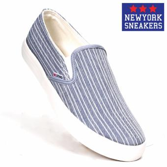 New York Sneakers Maideng Slip On Shoes(L.BLUE)