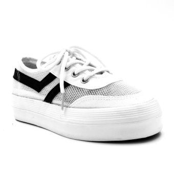 New York Sneakers Maine Low Cut Shoes (White)