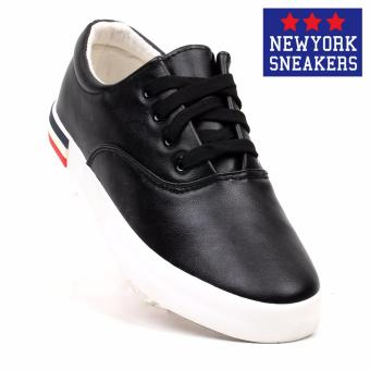 New York Sneakers Morna Low Cut Shoes(BLACK)