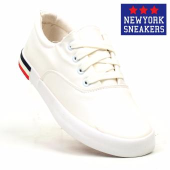 New York Sneakers Morna Low Cut Shoes(WHITE)