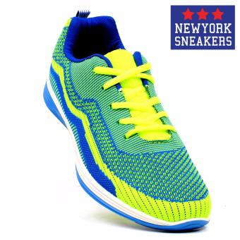 New York Sneakers Morven Rubber Shoes(Blue/Green)