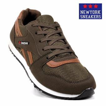 New York Sneakers Nolan Rubber Shoes (Army Green)