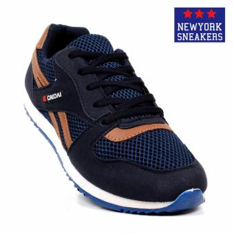New York Sneakers Nolan Rubber Shoes(NAVY)