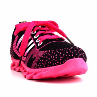 New York Sneakers Selby Rubber Shoes(BLACK/PINK)