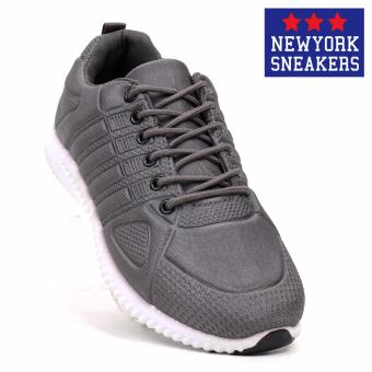 New York Sneakers Seth Rubber Shoes(GREY)