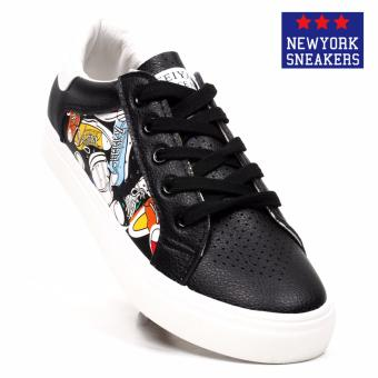New York Sneakers Shaquille Low Cut Shoes(BLACK)