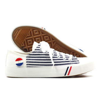 New York Sneakers Steffi Low Cut Shoes(WHITE) - 3