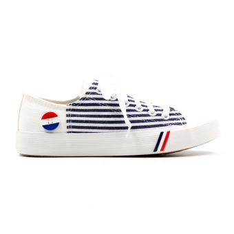 New York Sneakers Steffi Low Cut Shoes(WHITE) - 2