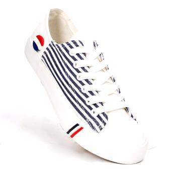 New York Sneakers Steffi Low Cut Shoes(WHITE)