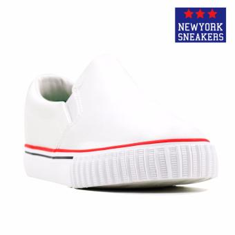 New York Sneakers Tabby Slip On Shoes(WHITE)