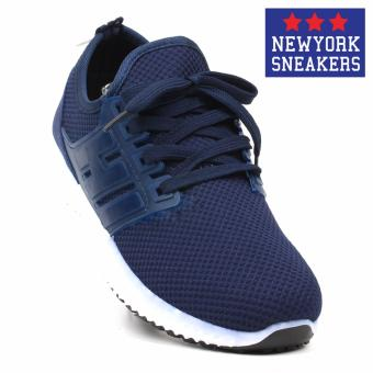 New York Sneakers Tanner Rubber Shoes(NAVY)