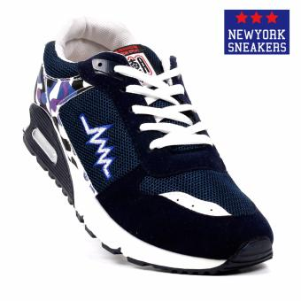 New York Sneakers Trent Rubber Shoes(NAVY) Price Philippines