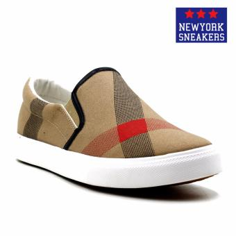 New York Sneakers Tyler Slip On Shoes(BROWN)