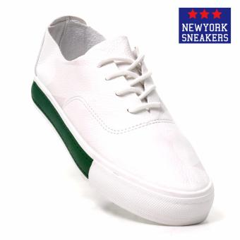 New York Sneakers Xinben Low Cut Shoes F81(WHITE/GREEN)
