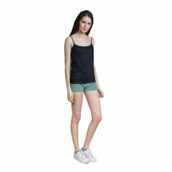Newyork Army Ladies Spaghetti Strapped Top - Black - 4