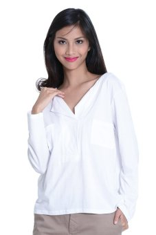 NEXT 92-031 Ladies' Longsleeves Blouse (White) - picture 2