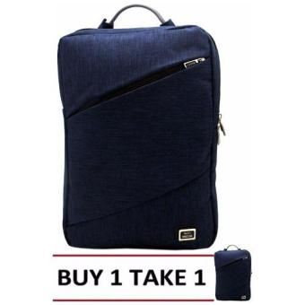 Nick Co 1663 Backpack (Navy Blue)BUY1TAKE1 Price Philippines
