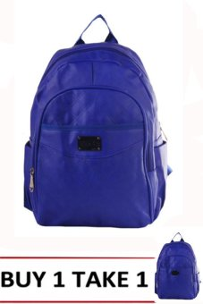 Nick Co A3001 Backpack (Blue) BUY 1 TAKE 1