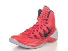 Nike Hyperdunk 2013 Basketball Shoes - (University Red/Wolf Black) -  University Red/Black-Wolf - 9