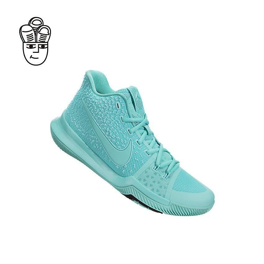 f77619a7bf99 ... Nike Kyrie 3 Basketball Shoes Aqua   Black 852395-401 -SH ...