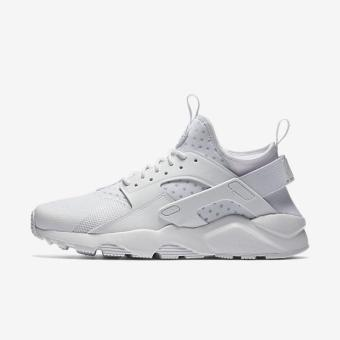 NIKE MEN AIR HUARACHE RUN ULTRA SHOE WHITE 819685-101 US7-11 01' -intl Price Philippines