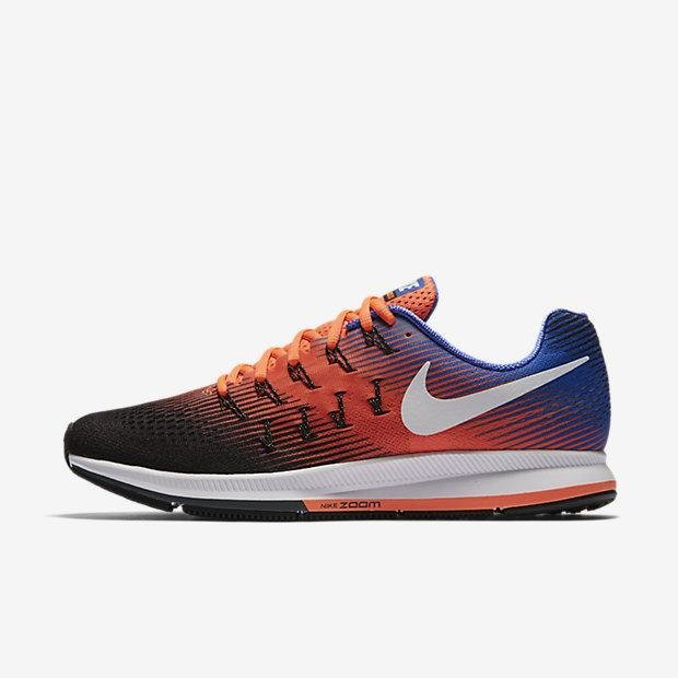 NIKE MEN AIR ZOOM PEGASUS 33 RUNNING SHOE HYPER ORANGE 831352-010 US7-11 02' - intl Price Philippines