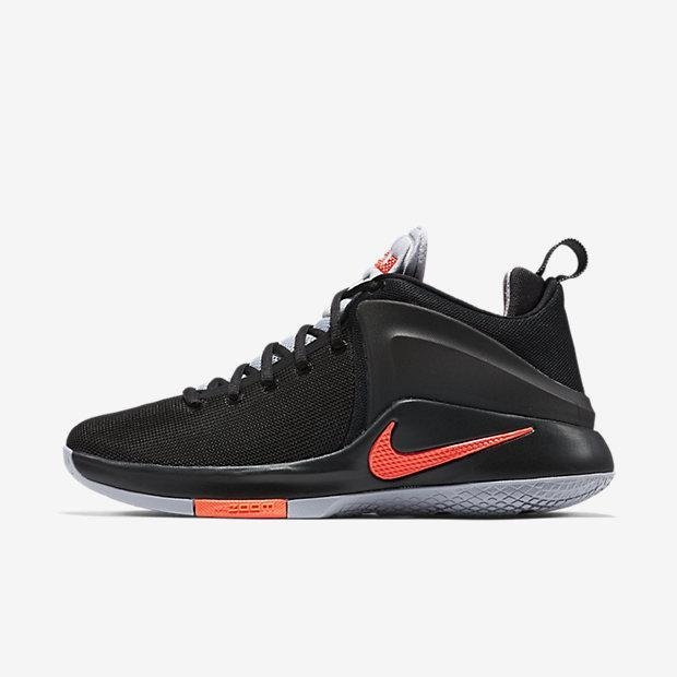 NIKE MEN ZOOM WITNESS EP BASKETBALL SHOE BLACK 884277-006 US7-11 02' - intl