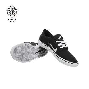 Nike SB Portmore Canvas Skateboard Shoes Black / White 723874-003 -SH - 5