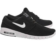 Nike Stefan Janoski Max L Men\u0027s Shoes - Black/White (8.0)