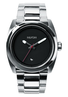 Nixon Kingpin Men's Silver Stainless Steel Strap Watch A507-000