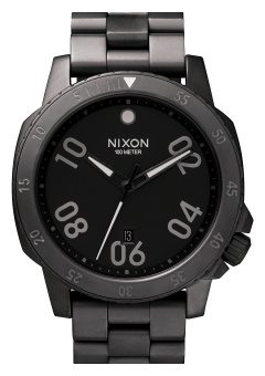 Nixon Ranger Men's Gunmetal Stainless Steel Strap Watch A506-632