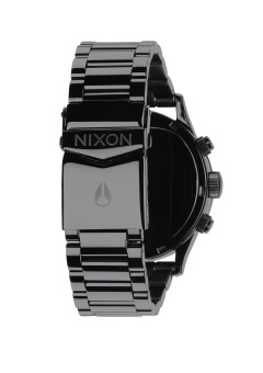 Nixon Sentry Chrono Men's Gunmetal Stainless Steel Strap Watch A386-1885 - 3