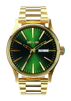 Nixon Sentry SS Men's Gold-plated Stainless Steel Strap Watch A356-1919 Price Philippines