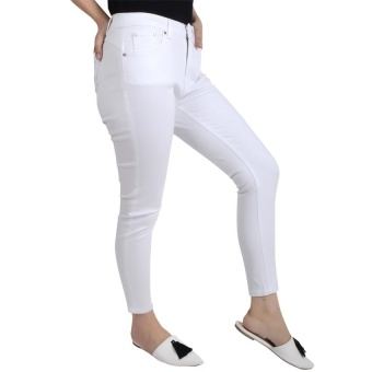 No Apologies Colored Long Jeans Nbb05-069 (Off White) - 2