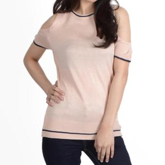 No Apologies Special Fabric S/S Blouse Nlt12-0215 (Peach) Price Philippines
